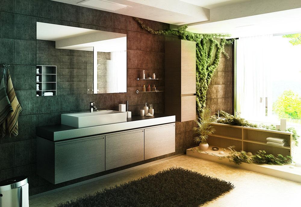 Dekorera-ditt-badrum-med-vackra-växter-5 Dekorera ditt badrum med vackra växter
