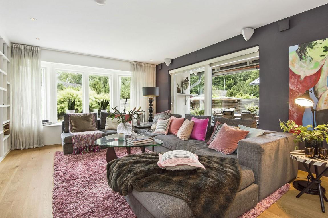 Svensk-Villa-In-Saro-Mit-Elegant-7 Svensk Villa i Saro med elegant designade rum
