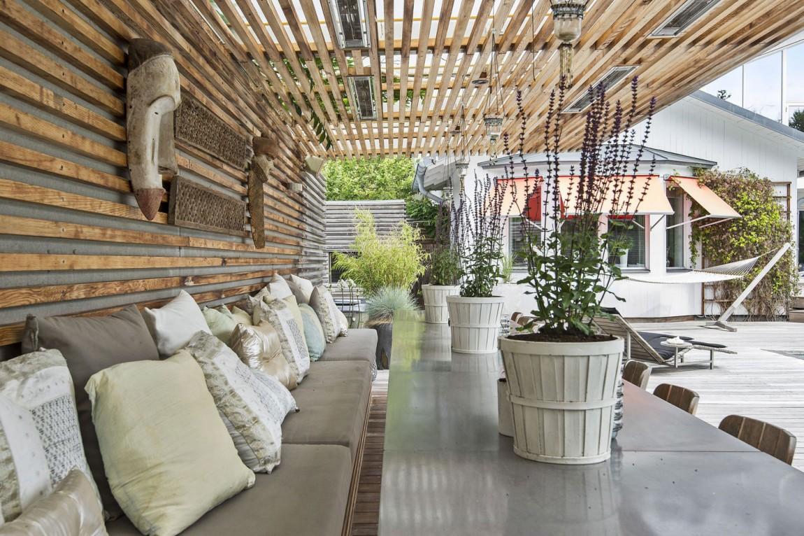 Svensk villa-i-Saro-med-elegant-3 Svensk villa i Saro med elegant designade rum