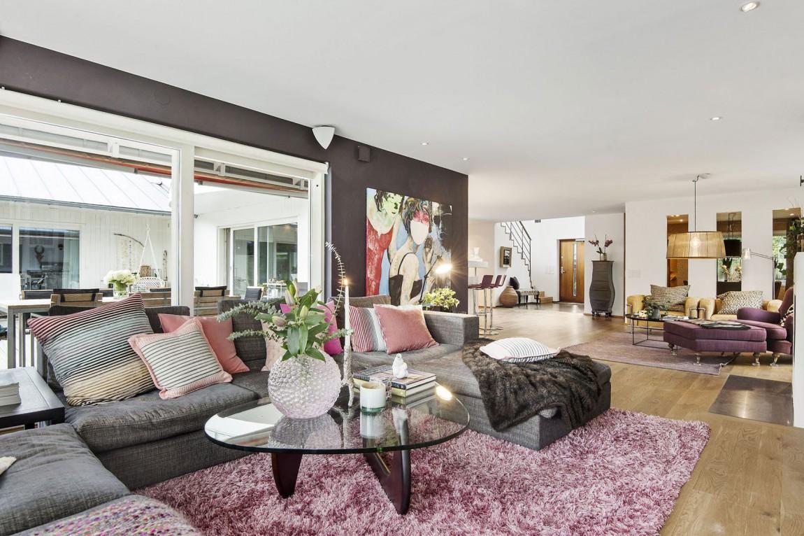 Svensk Villa-i-Saro-med-elegant-8 Svensk villa i Saro med elegant designade rum