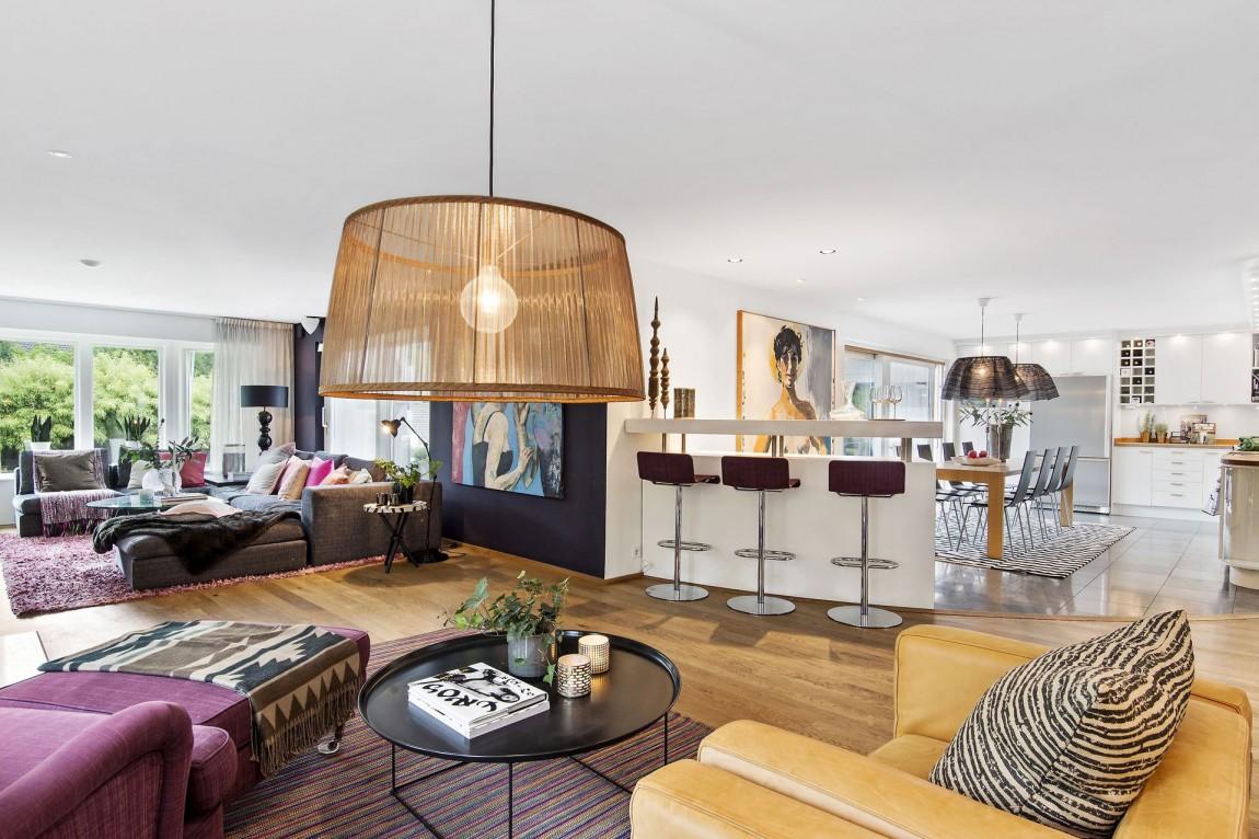 Svensk villa-i-Saro-med-elegant-6 Svensk villa i Saro med elegant designade rum