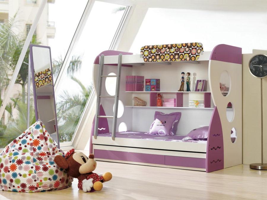 7 moderna våningssängdesigner och idéer för ditt barns rum