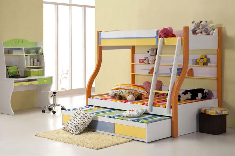 8 moderna våningssängdesigner och idéer för ditt barns rum