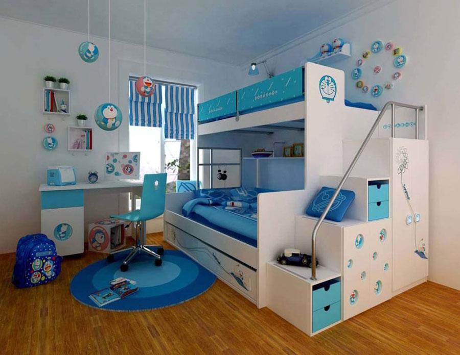 4 moderna våningssängdesigner och idéer för ditt barns rum