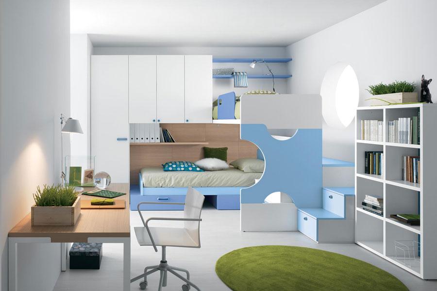 6 moderna våningssängdesigner och idéer för ditt barns rum