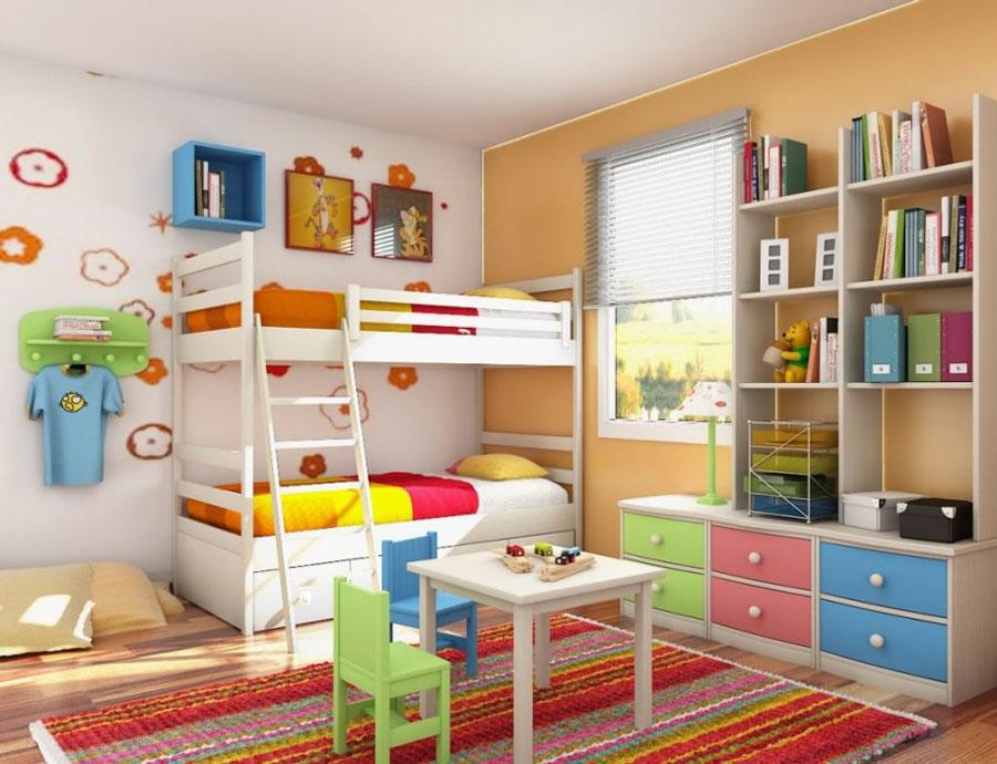 5 moderna våningssängdesigner och idéer för ditt barns rum