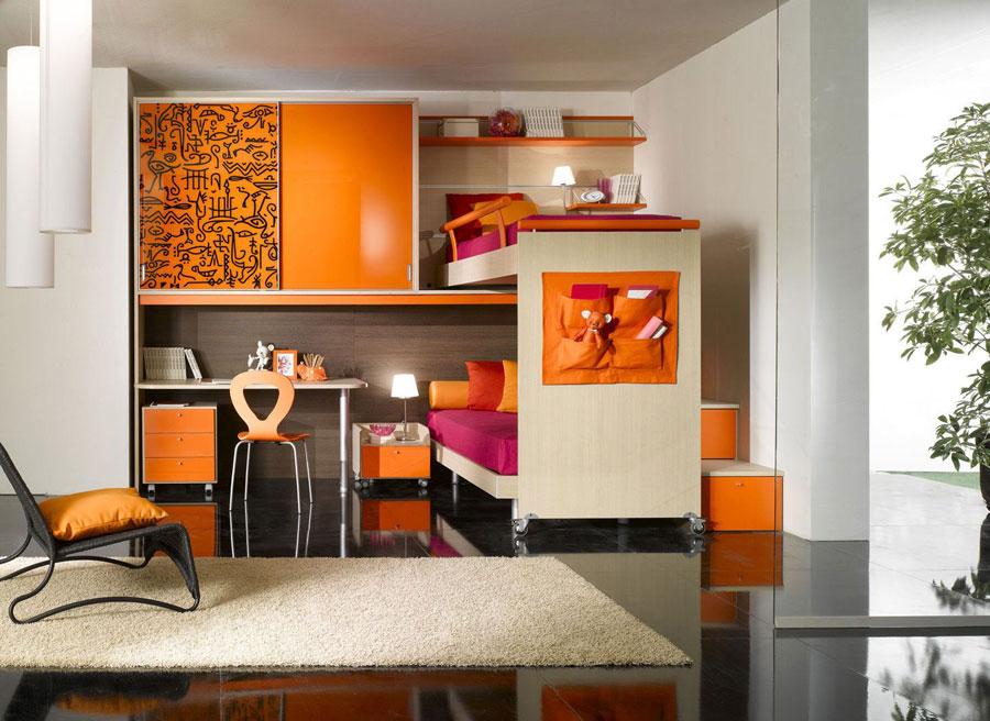 10 moderna våningssängdesigner och idéer för ditt barns rum