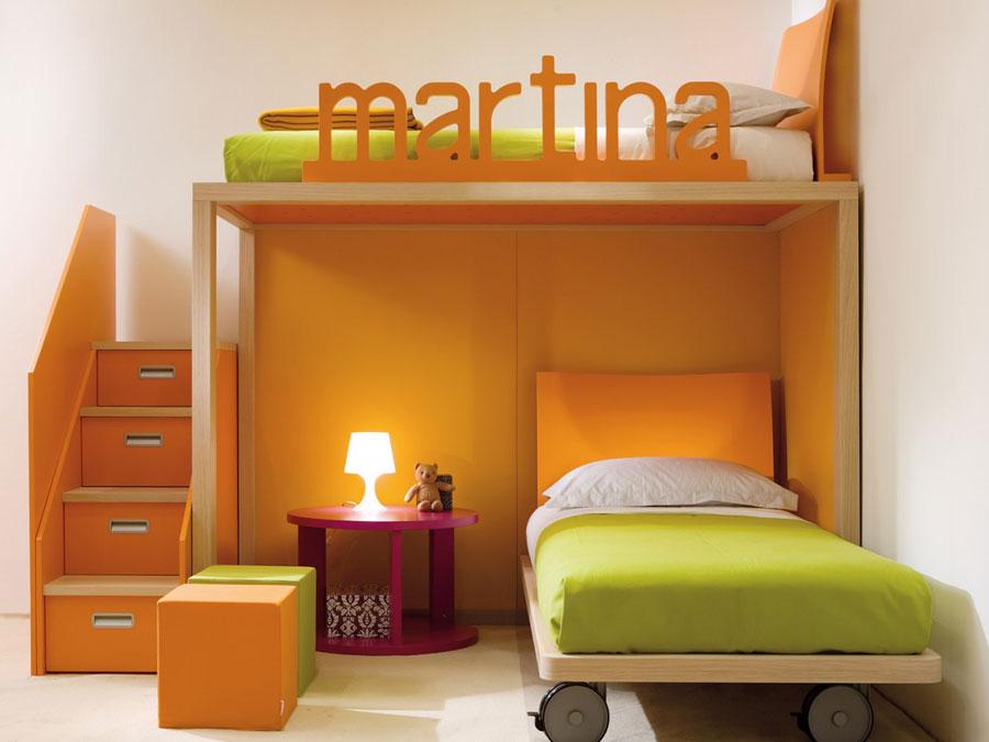 13 moderna våningssängdesigner och idéer för ditt barns rum
