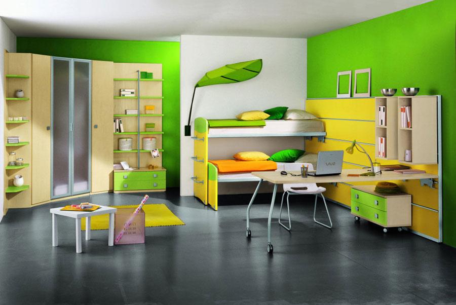 16 moderna våningssängdesigner och idéer för ditt barns rum
