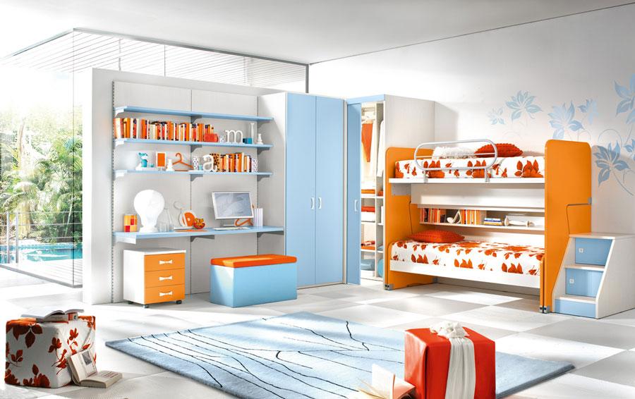 11 moderna våningssängdesigner och idéer för ditt barns rum