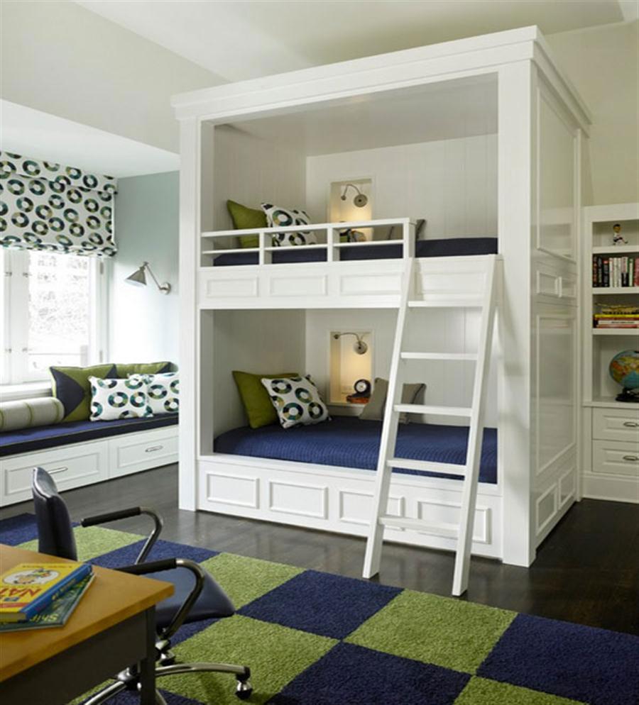 15 moderna våningssängdesigner och idéer för ditt barns rum