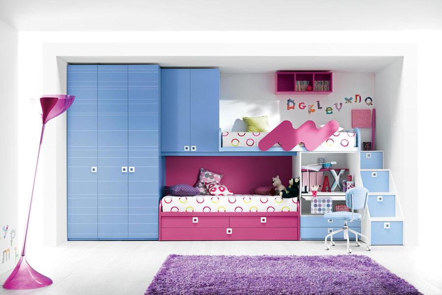 12 moderna våningssängdesigner och idéer för ditt barns rum