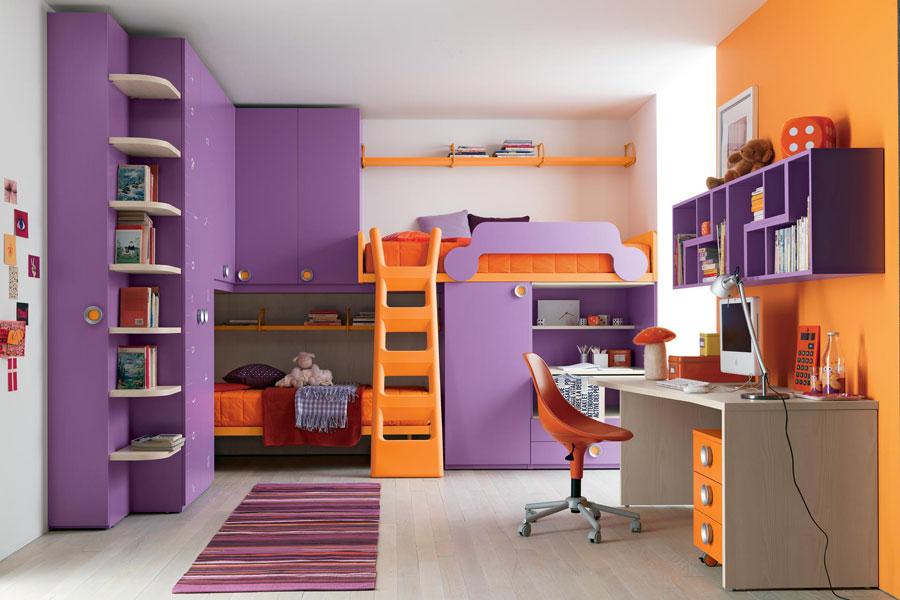 14 moderna våningssängdesigner och idéer för ditt barns rum