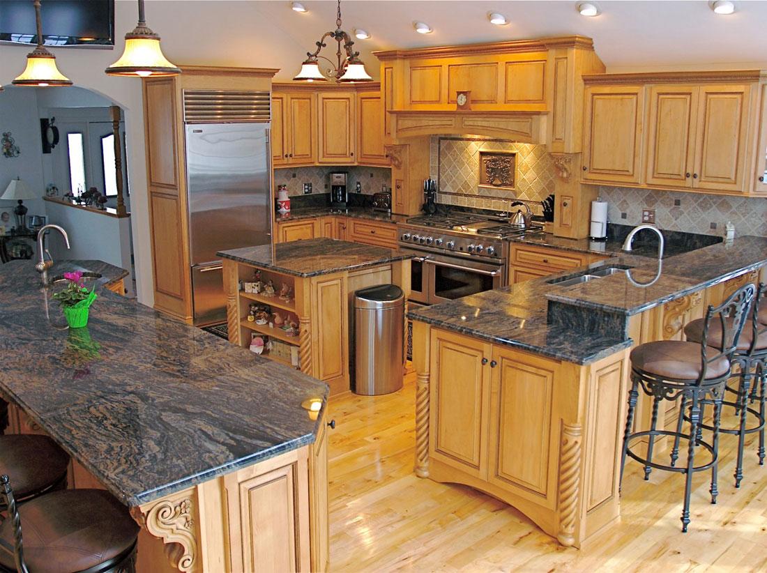Nytt-kök-interiör-design-exempel-5 Vet du inte hur du designar nästa kök?  Här är nya exempel på köksinredning