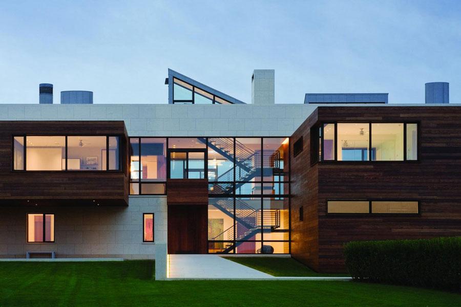 7 Ett arkitektoniskt underverk av ett modernt hem designat av Alexander Gorlin Architects
