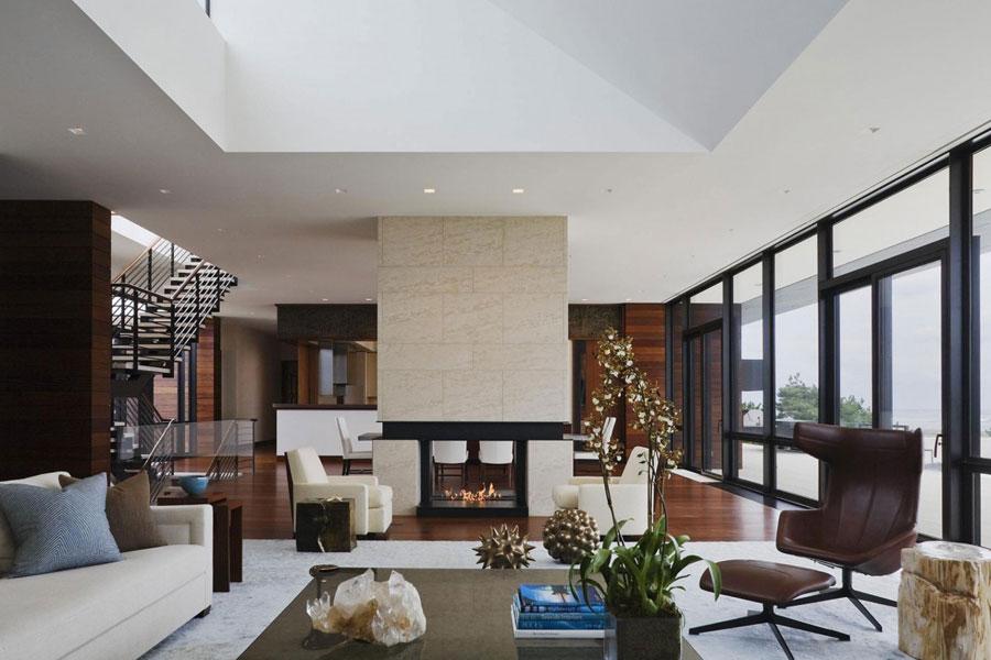 3 Ett arkitektoniskt underverk av ett modernt hem designat av Alexander Gorlin Architects