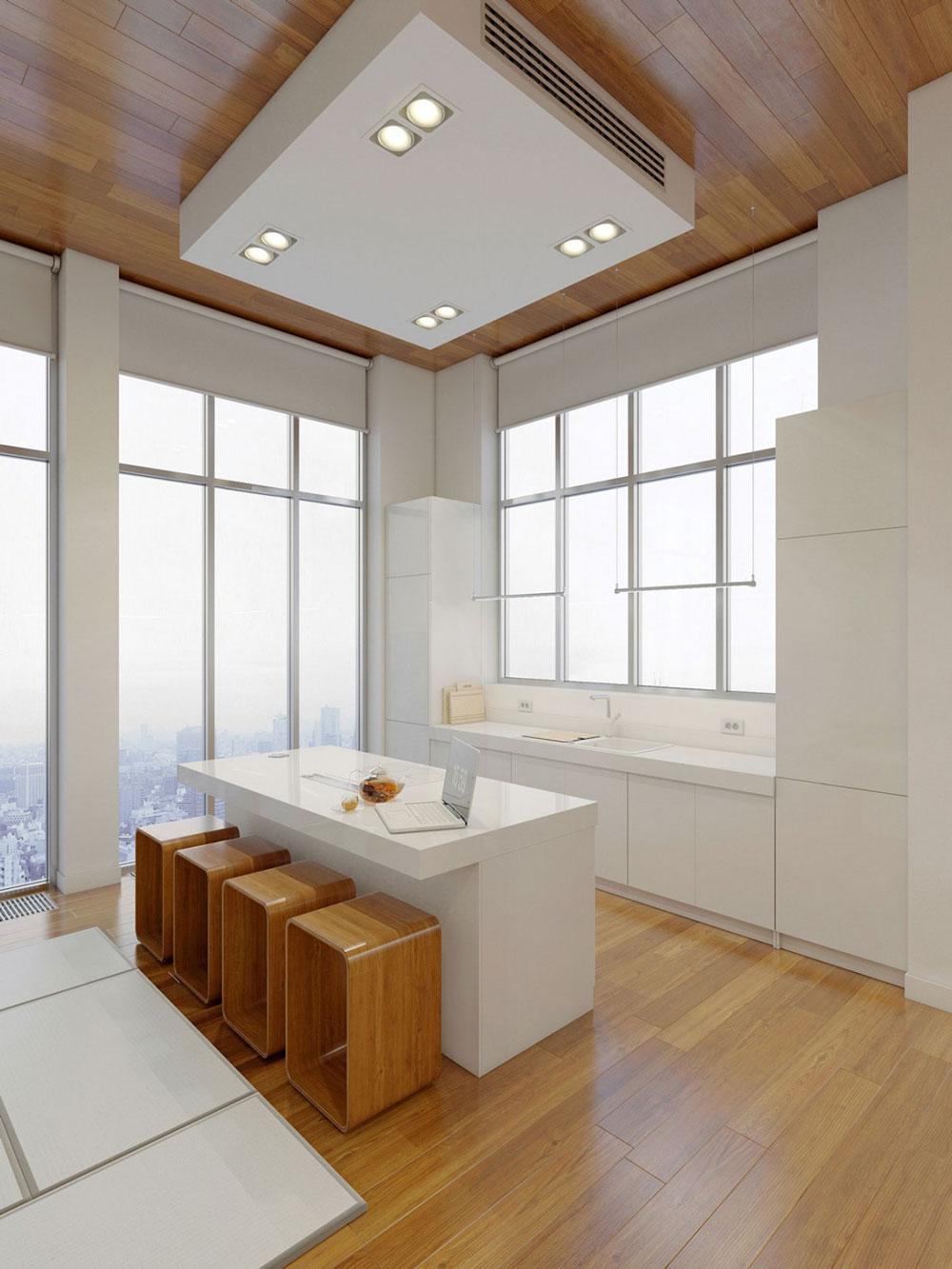 Lovely-Kitchen-Interiors-With-White-Cabinets-4 Vacker köksinredning med vita skåp