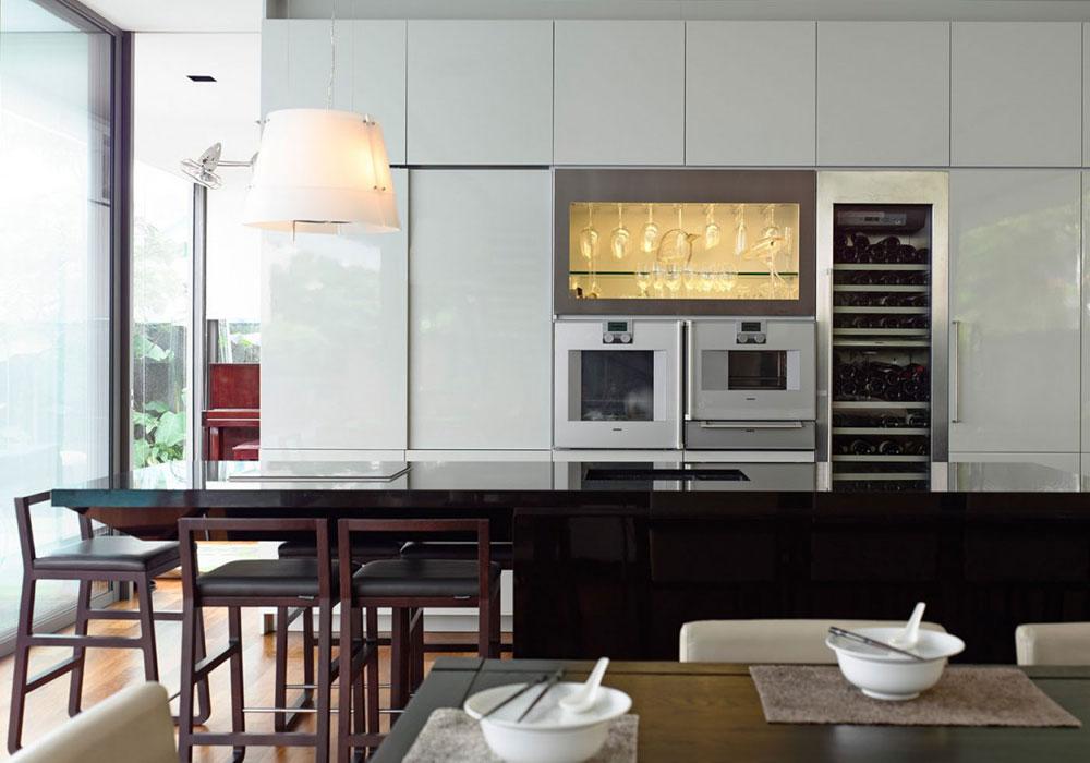 Lovely-Kitchen-Interiors-With-White-Cabinets-2 Vacker köksinredning med vita skåp