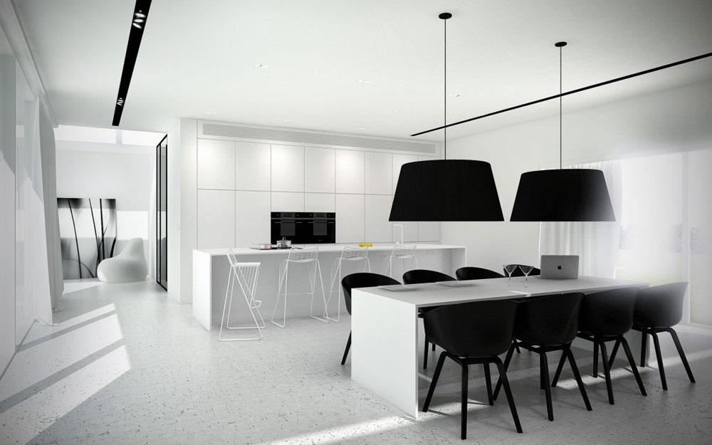 Lovely-Kitchen-Interiors-With-White-Cabinets-3 Vacker köksinredning med vita skåp