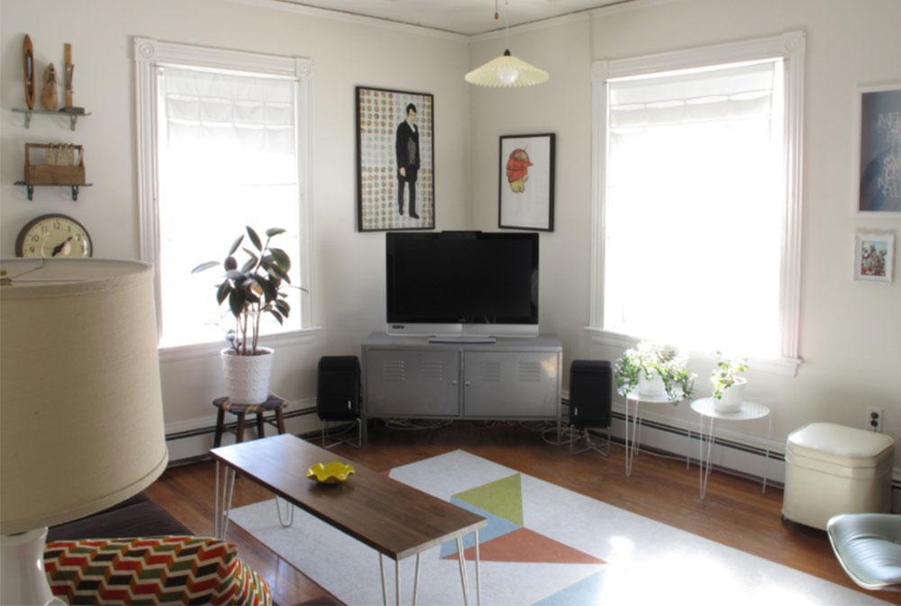 Vardagsrum - mot fönstret av Amanda IKEA vardagsrumsdesignidéer