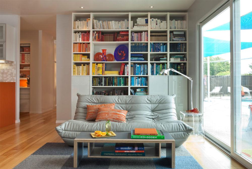 Färgglada Mid-Century-Modern-Residence-by-Kropat-Interior-Design IKEA Living Room Design Ideas