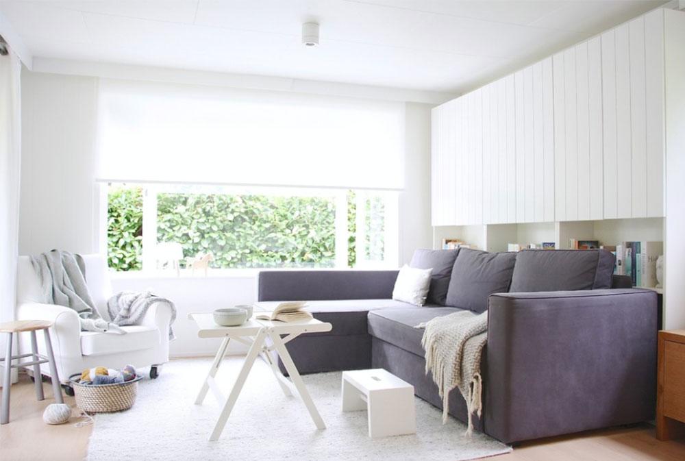 Hemmet för Tessa-Martin-von-Holly-Marder IKEA-vardagsrumsdesignidéer