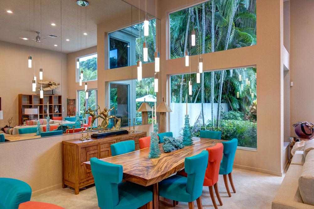 Eklektisk-heminredning-av-KDB-anpassade-hem Korallfärgen: Hur man använder den för att dekorera vackra interiörer