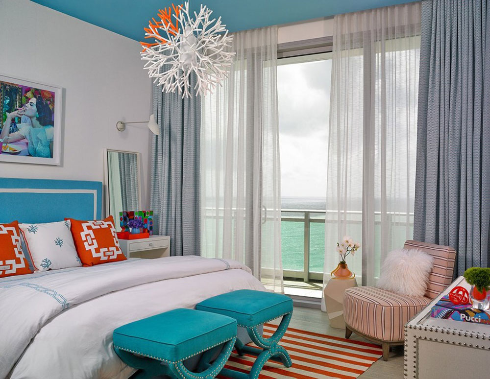 One-Bal-Harbour-av-Deborah-Wecselman-Design-Inc-2 Korallfärgen: Hur man använder den för att dekorera vackra interiörer