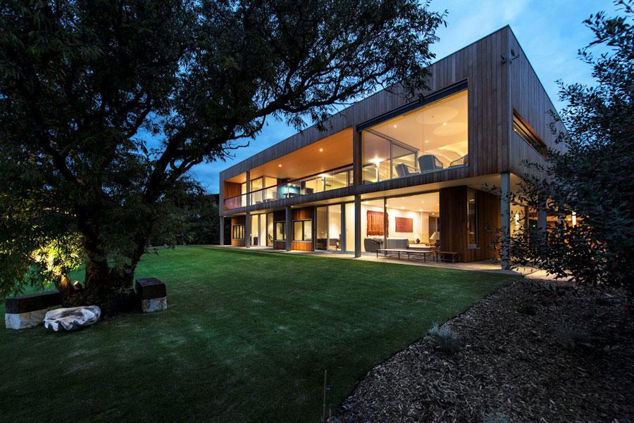 5 samtida mästerverk Eagle Bay Residence designat av Paul Jones