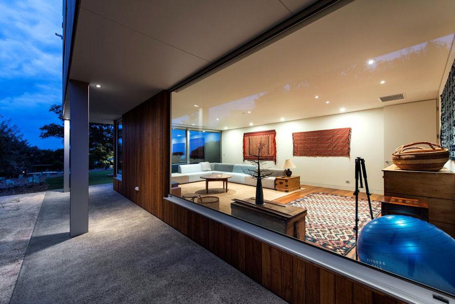 3 samtida mästerverk Eagle Bay Residence designat av Paul Jones