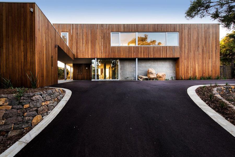 2 samtida mästerverk Eagle Bay Residence designat av Paul Jones