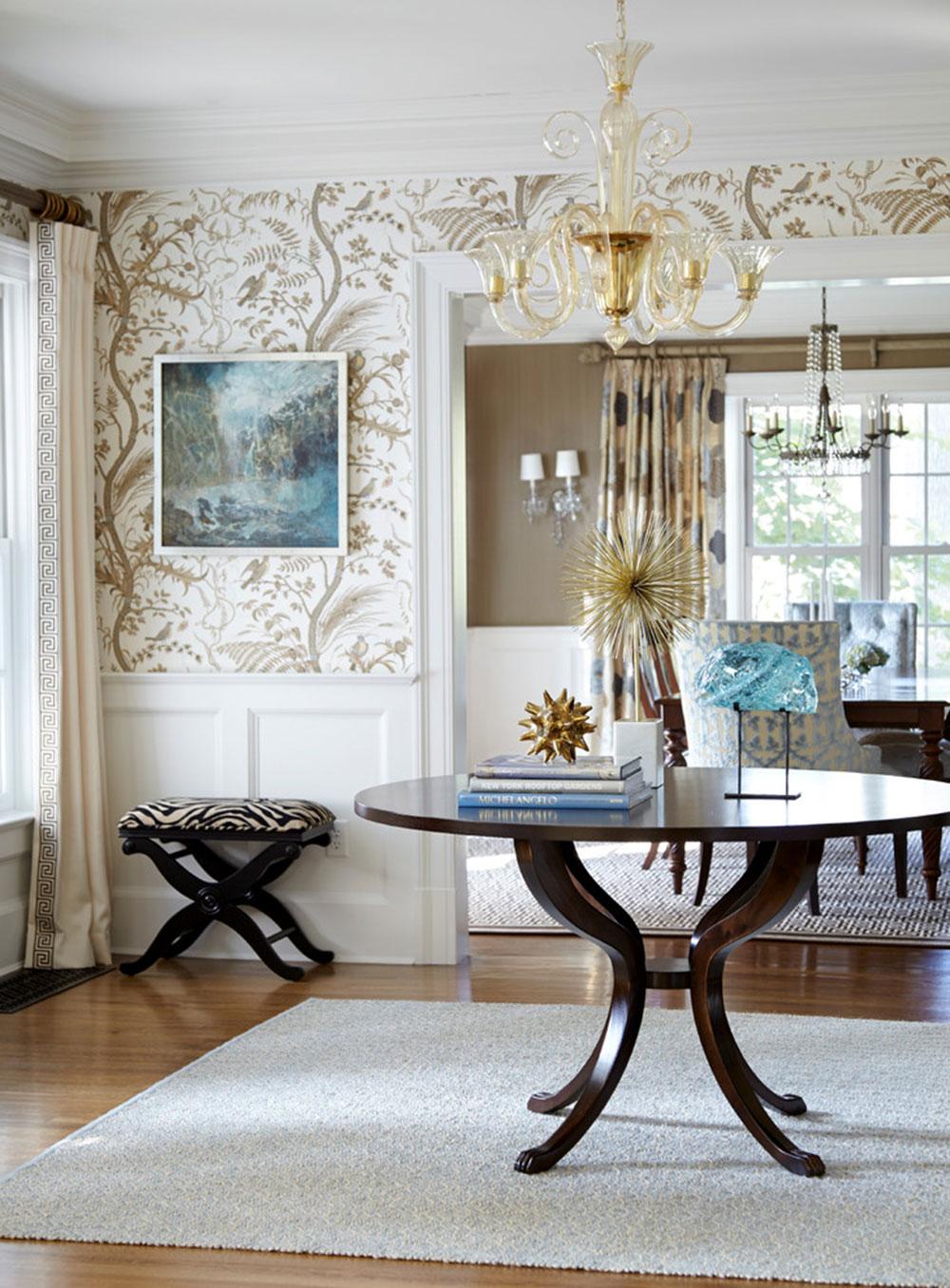 Tips för att dekorera ett rum med tvåfärgade väggar 12 tips för att dekorera ett rum med tvåfärgade väggar