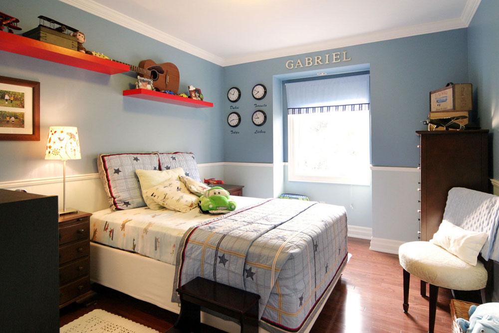 Tips för att dekorera ett rum med tvåfärgade väggar 4 tips för att dekorera ett rum med tvåfärgade väggar