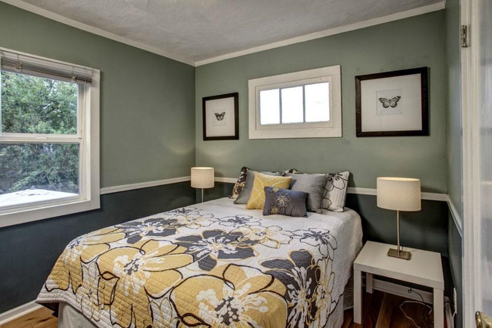 Tips för att dekorera ett rum med tvåfärgade väggar 3 tips för att dekorera ett rum med tvåfärgade väggar