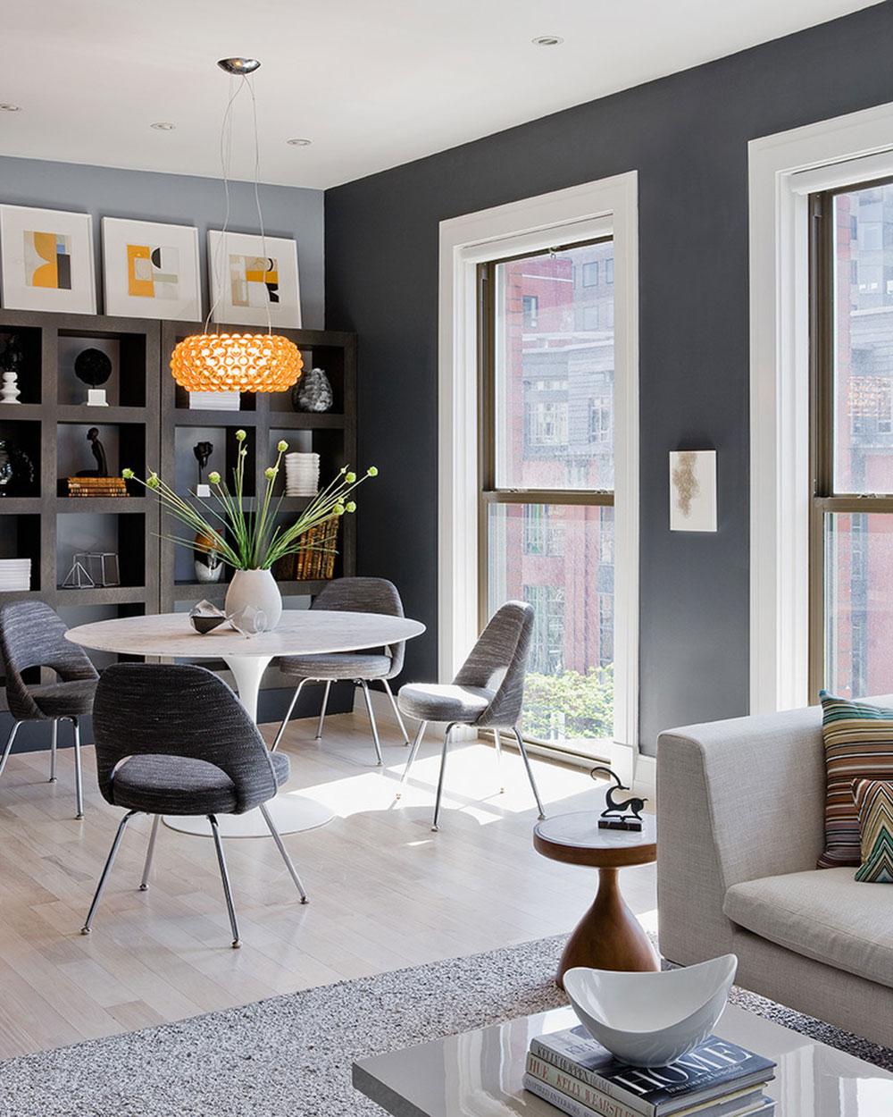 Tips för att dekorera ett rum med tvåfärgade väggar 5 tips för att dekorera ett rum med tvåfärgade väggar