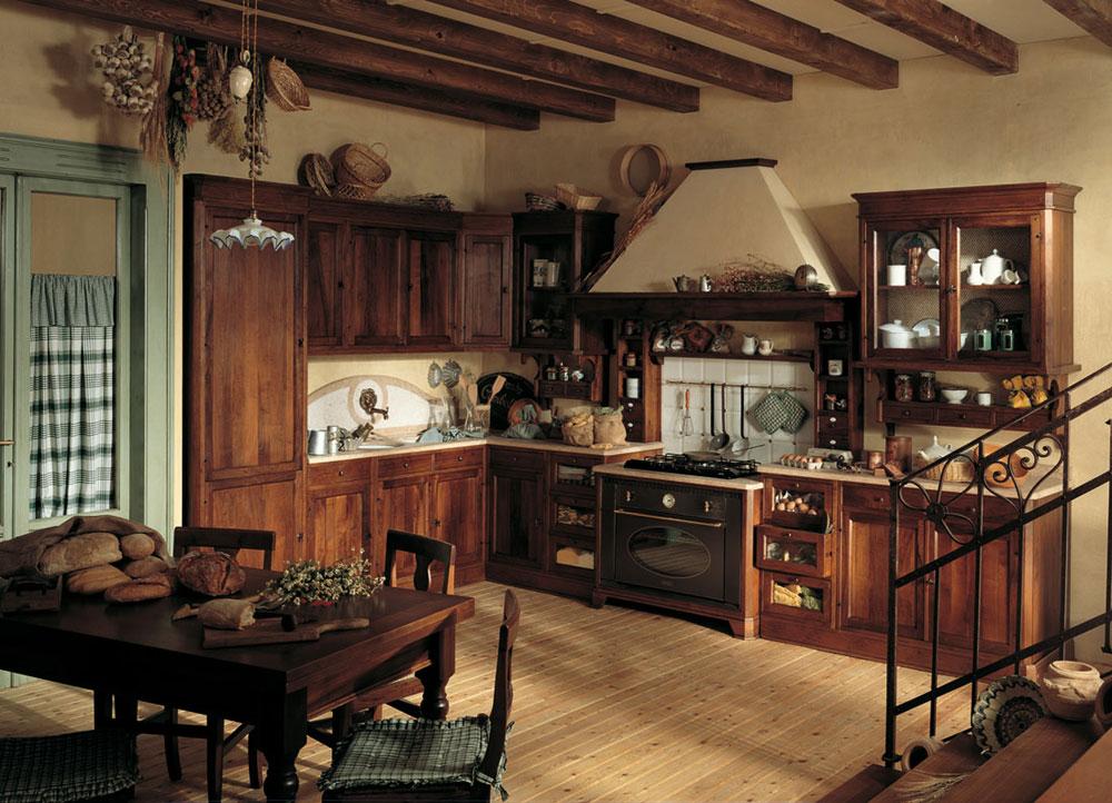 Varm-mysig-och-inbjudande-rustik-kök-interiör-61 Varm, mysig och inbjudande rustik-kök interiör