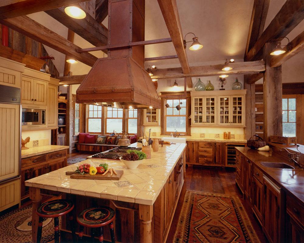 Varm-mysig-och-inbjudande-rustik-kök-interiör-31 Varm, mysig och inbjudande rustik-kök interiör