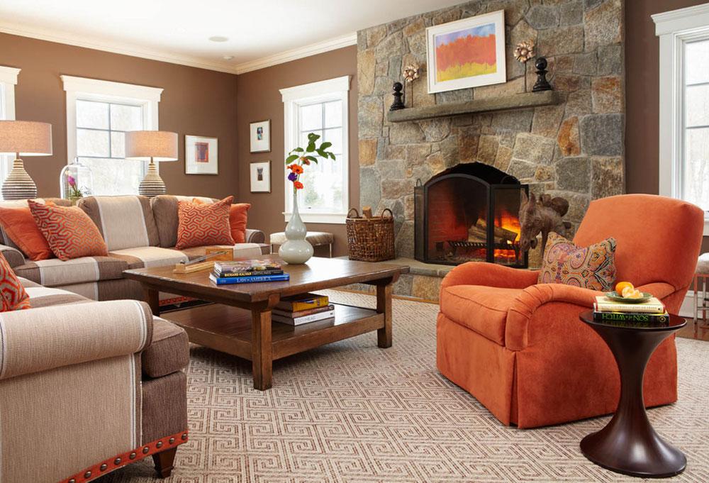 Brown-interiör-design-är-imponerande-för-värdar-och-gäster4 Brown Interior Design är-imponerande-för värdar och gäster