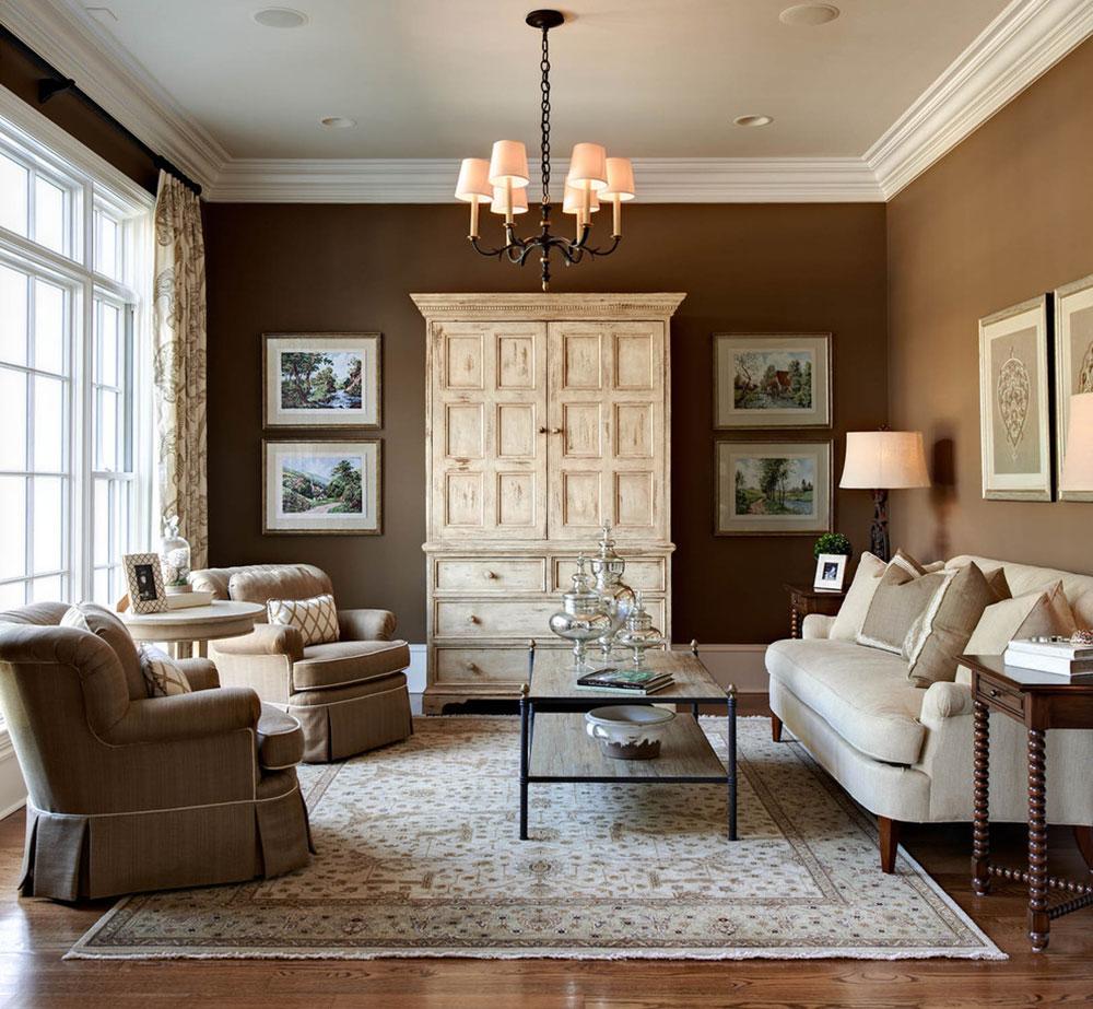 Brun-inredningsdesign-är-imponerande-för-värdar-och-gäster1 Brun inredningsdesign är-imponerande-för värdar och gäster