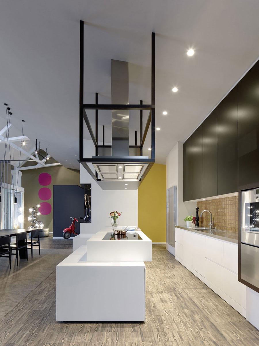 5 Modern och futuristisk inredning för loft