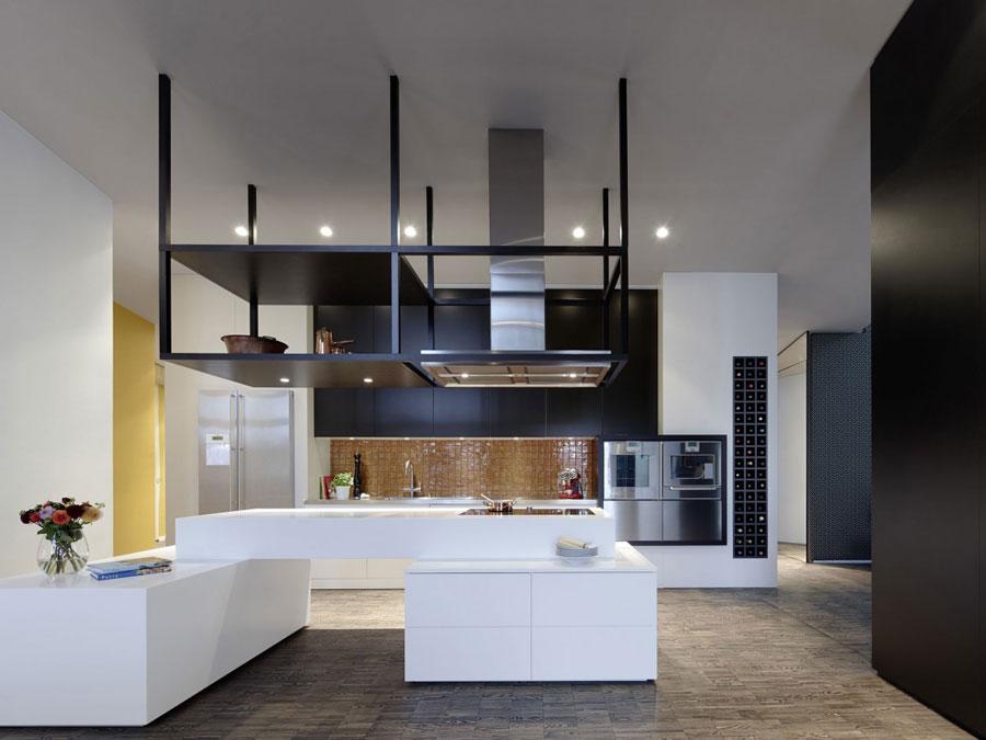 6 Modern och futuristisk inredning för loft