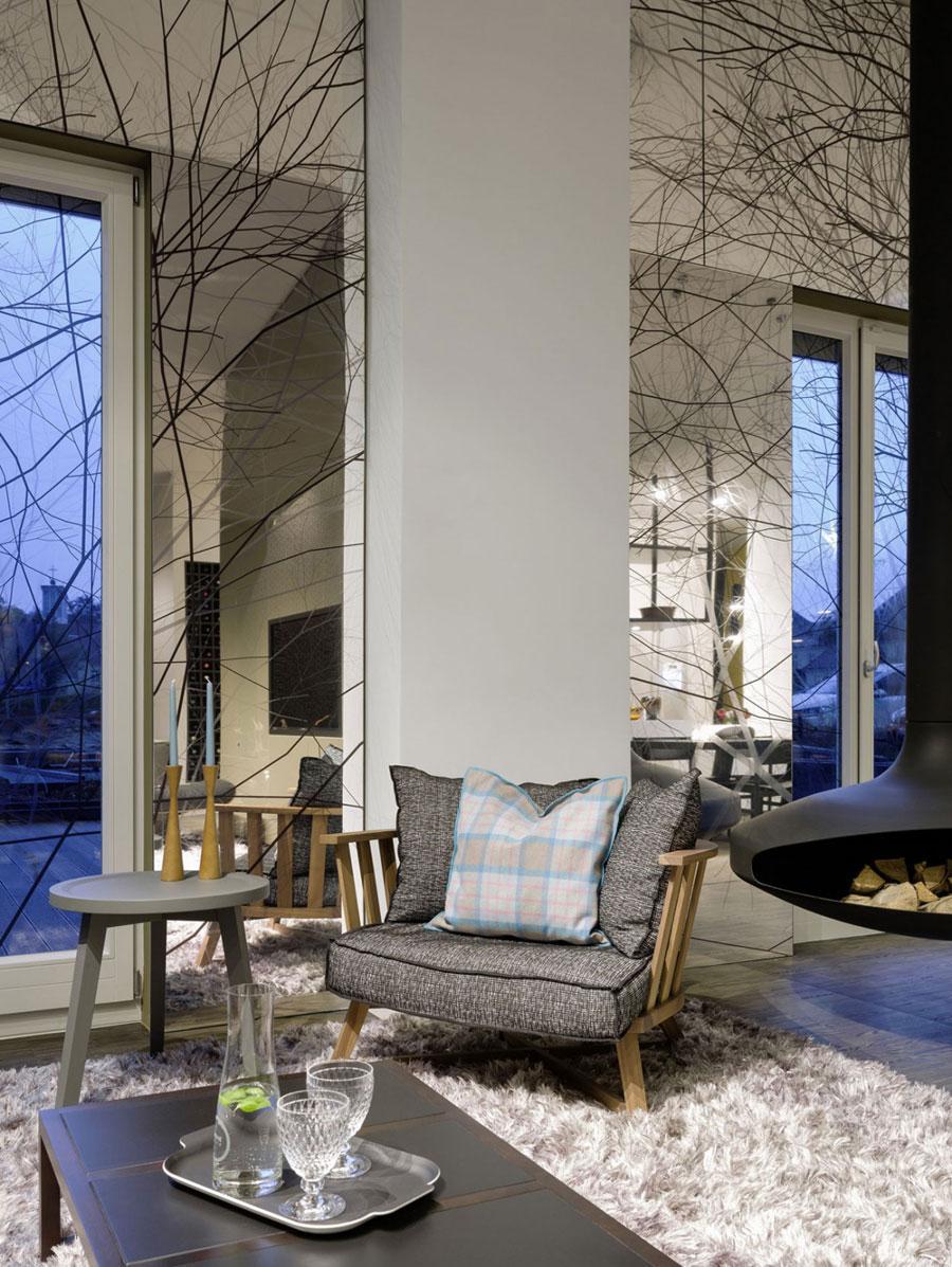 3 Modern och futuristisk inredning för loft
