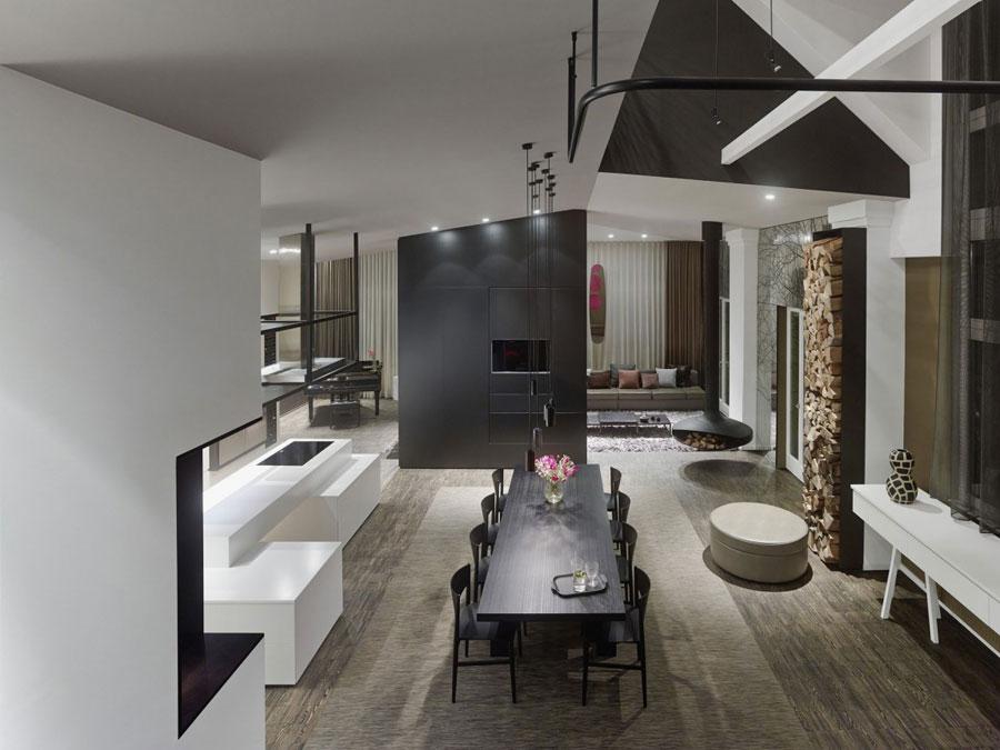 7 Modern och futuristisk inredning för loft