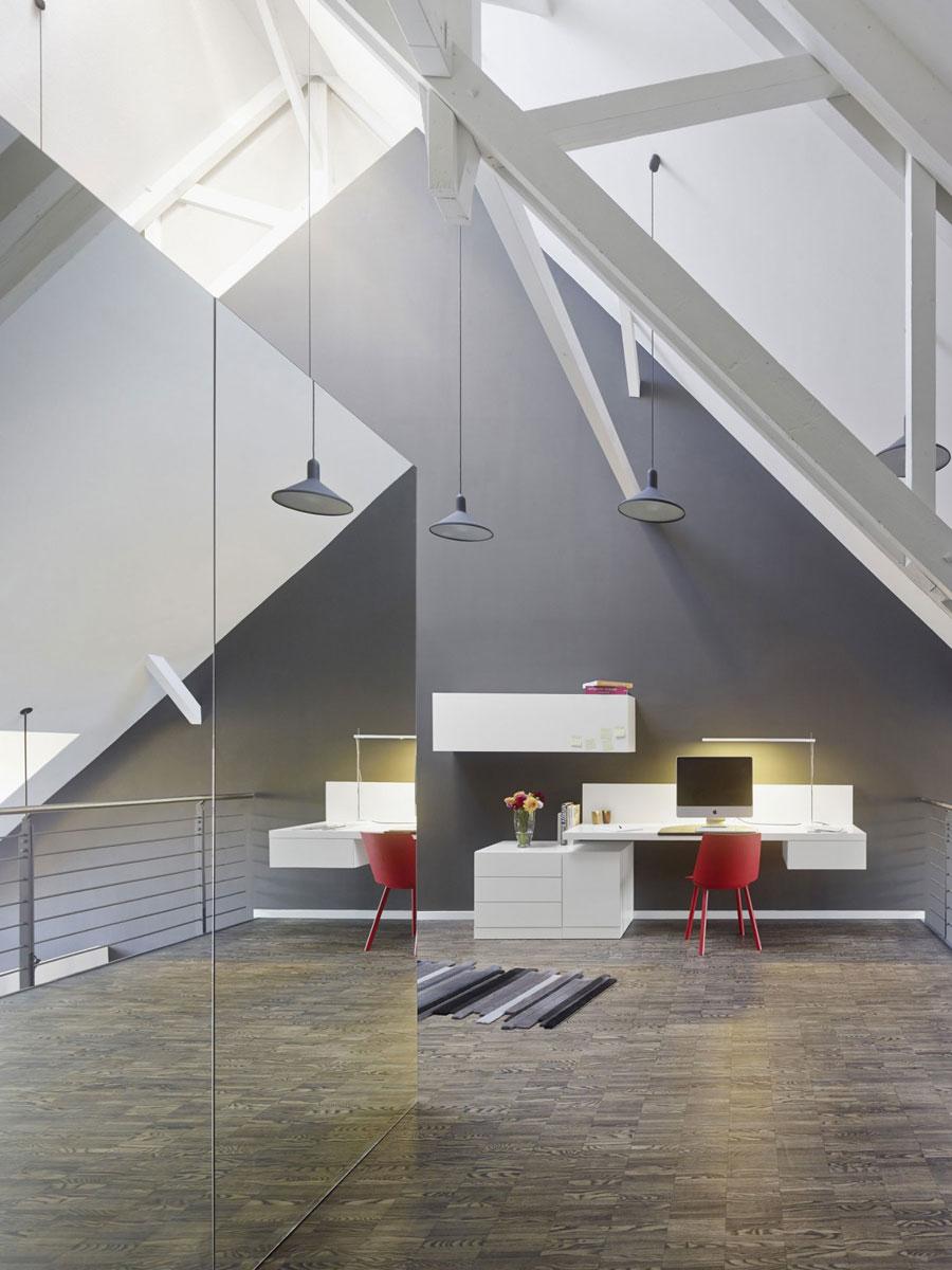 14 Modern och futuristisk inredning för loft
