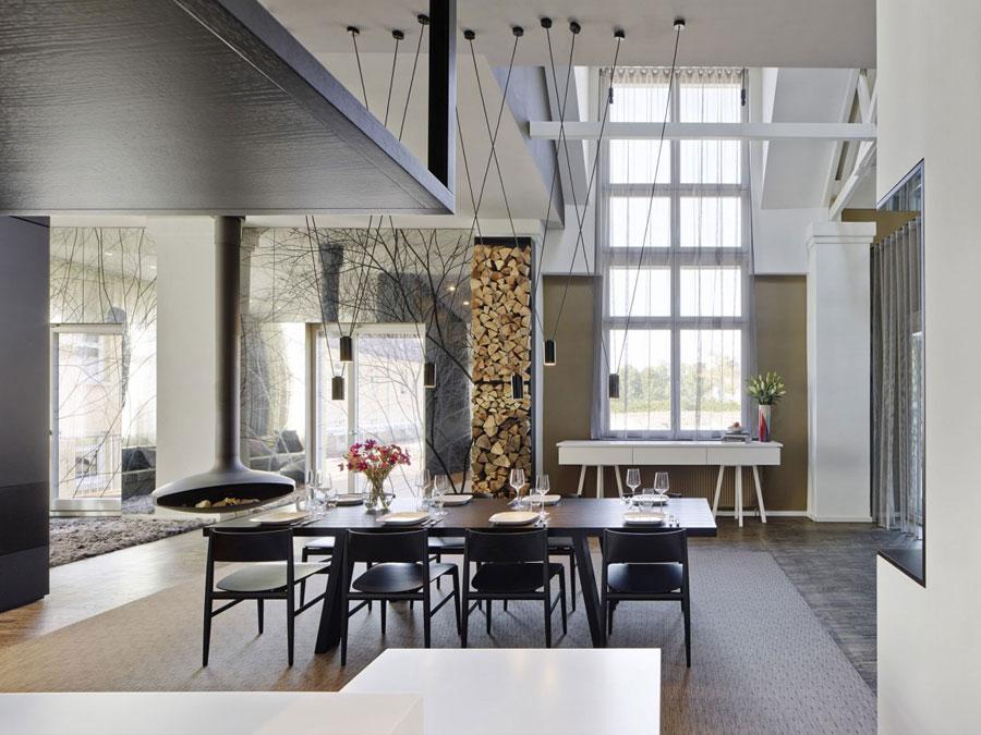 10 modern och futuristisk inredningsdesign för ett loft