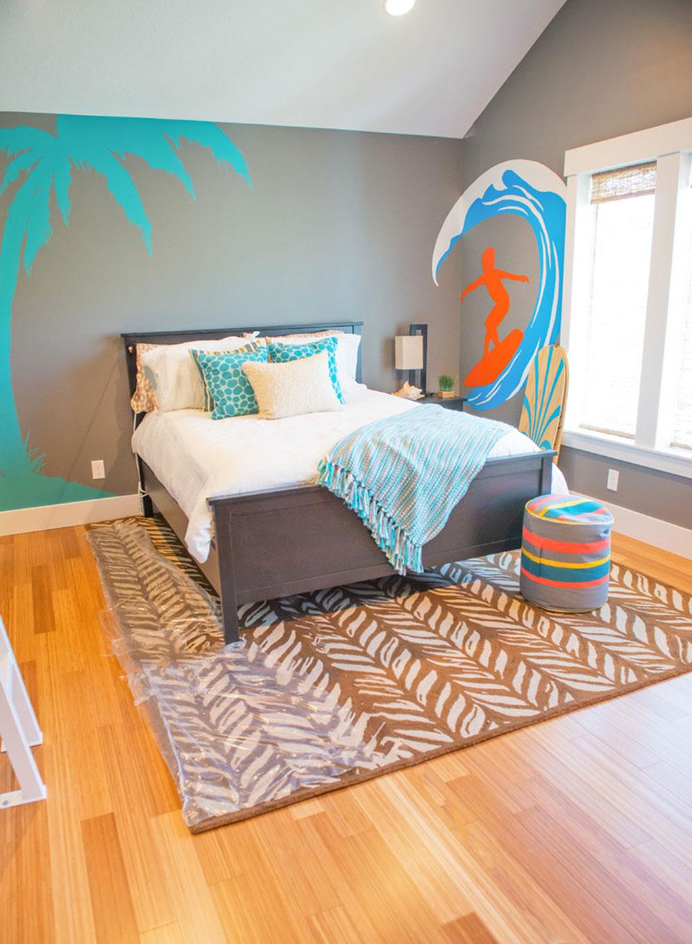 Never-Miss-Summer-With-These-Tropical-Bedroom-Design-Ideen5 Miss aldrig sommaren med dessa Tropical Bedroom Design Idéer