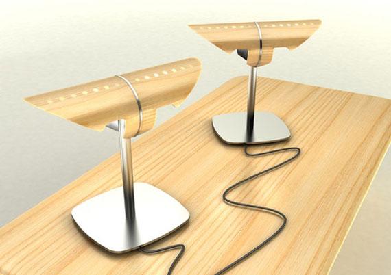 d6 Effektiva och väldesignade skrivbordslampor för att belysa ditt interiör