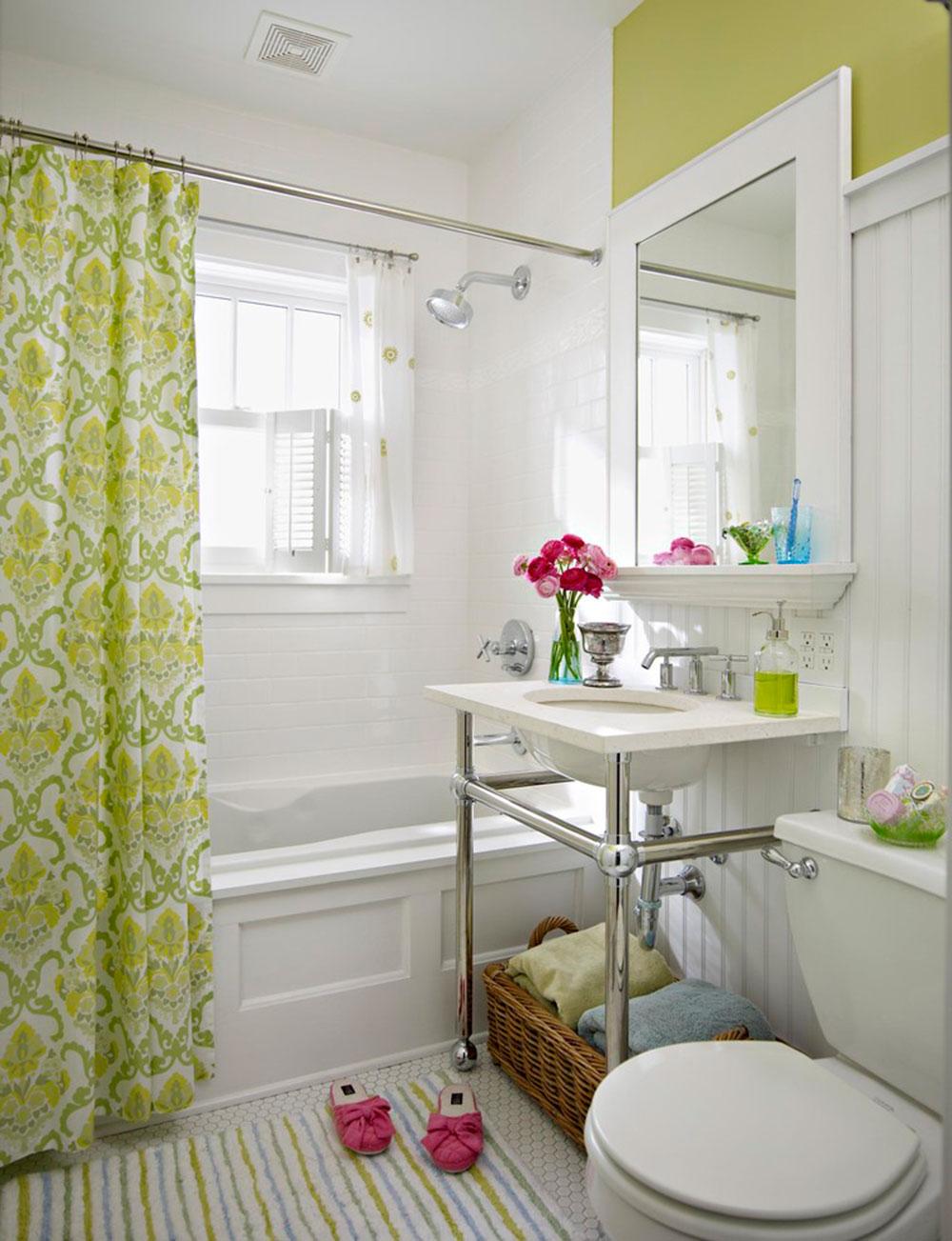 Förbättra ditt badrumsutseende med trendiga duschdraperier 6 trendiga duschdraperier för ditt badrum