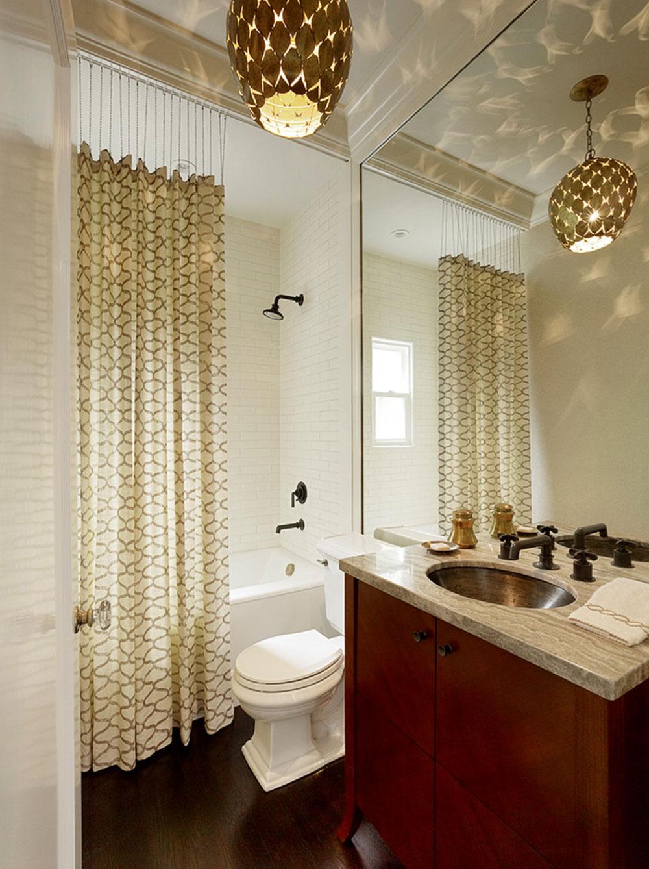 Förbättra ditt badrumsutseende med trendiga duschdraperier2 Trendiga duschdraperier för ditt badrum