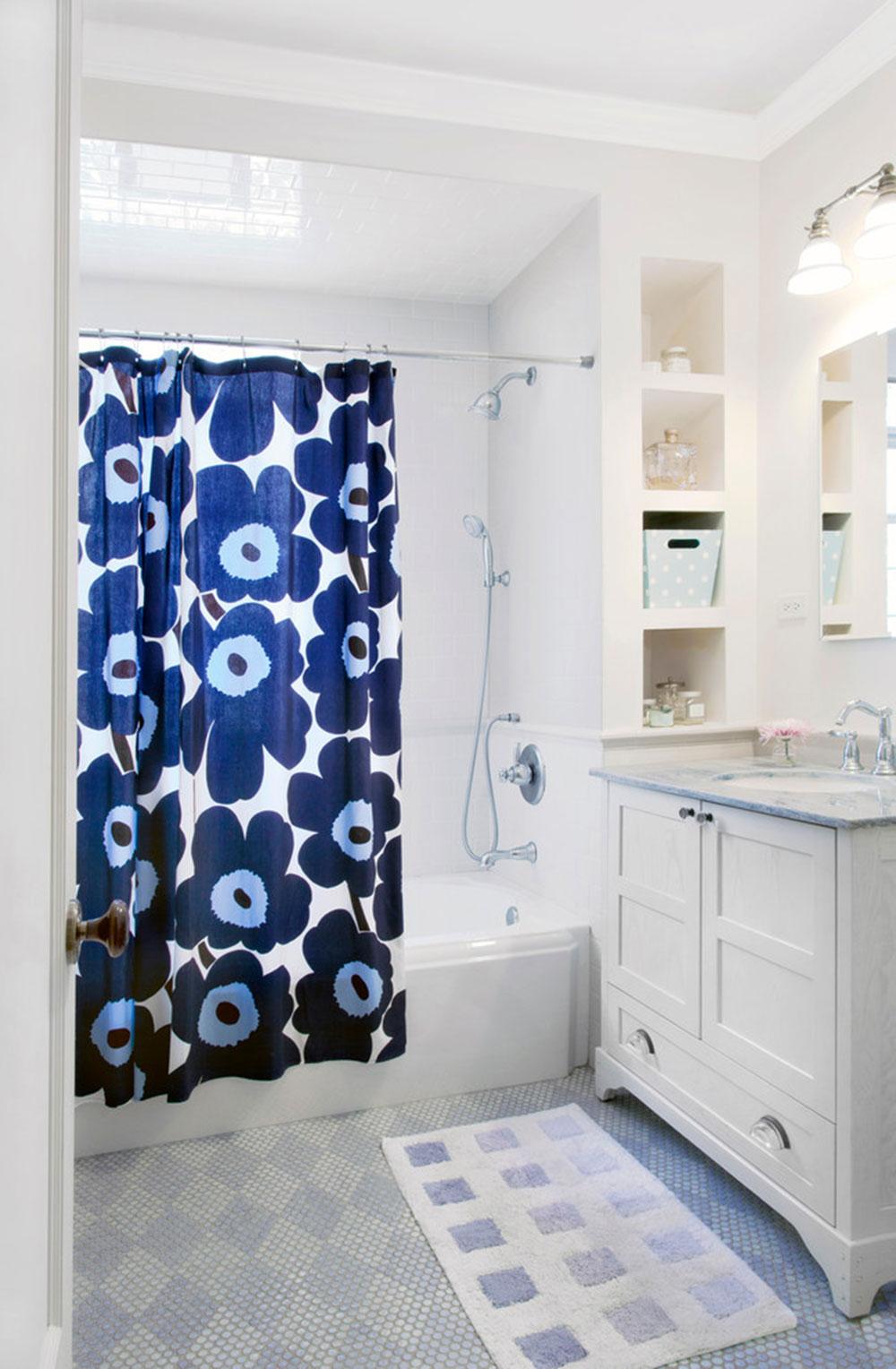 Förbättra ditt badrumsutseende med trendiga duschdraperier 11 trendiga duschdraperier för ditt badrum